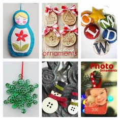 Boy, Oh Boy, Oh Boy Crafts: DIY Christmas Ornaments