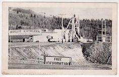Postcard Mollie Kathleen Mine in Cripple Creek Colorado