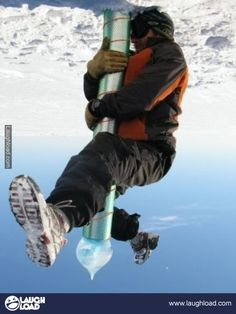 Fun at the South Pole