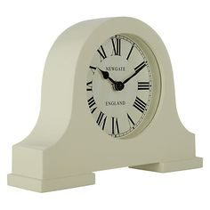 Newgate Mantel Clock, Cream, Small
