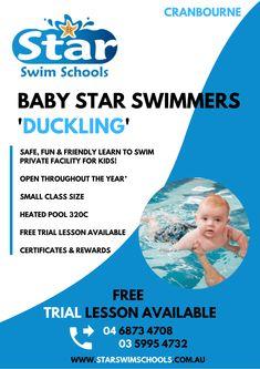 Swim School, Learn To Swim, Baby Swimming, Heated Pool, Schools, Learning, Fun, Kids, Young Children