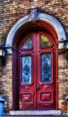 Red Doors - Belleville, Ontario (by Dan Walker)