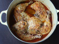 Oven Braised Chicken Legs With Rosemary: Braised Rosemary Chicken