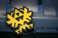 Perler Bead Zelda Triforce Keychain. $12.00, via Etsy.