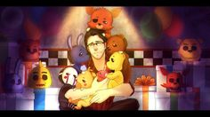 Markiplier is the savior of Fnaf Five Nights At Freddy's, Markiplier Fnaf, Fnaf 1, Animatronic Fnaf, 2 Kind, Nerd, Freddy 's, Darkiplier, Fnaf Sister Location