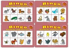 Animals Bingo Game is a fun way to teach or review animal vocabulary! Classic Bingo game for kids that helps develop picture recognition and matching skills. Ages 5 & upFeatures beautiful animal graphicsIncludes:5 Bingo Cards (in color)40 Caller CardsInstructionThe game can be played by 2-5 players.