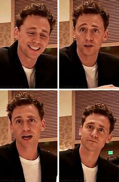 He looks so sweet.