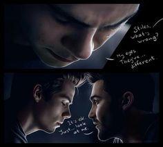 Sterek || Stiles' eyes has changed PART 1