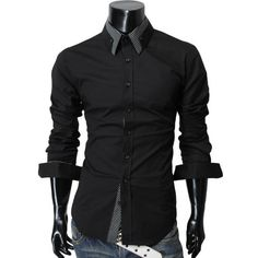 TheLees Mens long double collar cuff slim dress shirts TheLees, http://www.amazon.com/dp/B005D4GJY4/ref=cm_sw_r_pi_dp_njvirb1DR05VD
