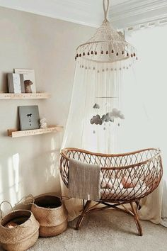 Tablet 😍 Related posts: Babyzimmer - saansh - by sandra pietras Baby Nursery: Easy .Black and White Boho Safari Nursery with Ikea Light . baby room model fitted out in bohemian chic style with curtain .