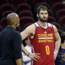 Love takes part in Game 4 shootaround game status unclear (Yahoo Sports)