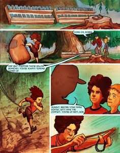Page 2 KINGS OF OVERGROVE is an action adventure about two brothers who must enter a subterranean world (THE UNDERGROVE) in order to defeat horrible monsters and save the family ranch above ground (THE OVERGROVE)… If they fail, it's goodbye ranch, and worse, goodbye boys!