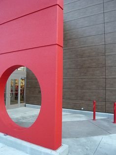 Trespa Meteon cladding as retail construction feature by trespa-colorado, via Flickr