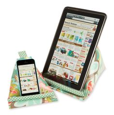 How to sew an ipad, iphone or tablet holder by Nancy Zieman | Sewing With Nancy