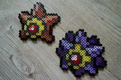 120 Stari / Staryu 121 Staross / Starmie - Perler Beads by Vicsene