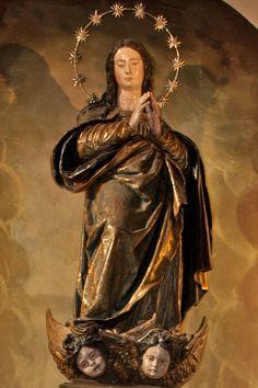 Inmaculada de Alonso Cano (1633-1634), iglesia de San Julián (Sevilla).- Inmaculada La Cieguecita -