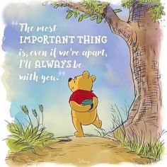 Some beary sweet #WednesdayWisdom from the Hundred Acre Wood!