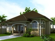 Small House Design: SHD-2014007 | Pinoy ePlans - Modern House Designs, Small House Designs and More!