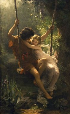 Spring oil on canvas, Metropolitan Museum of Art, NYC Cicely Mary Barker, Angel Aesthetic, Aesthetic Art, Pierre Auguste Cot, Moana Concept Art, Pop Art, Art Photography Portrait, Art Hoe, Pour Painting