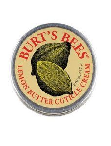 Burts Bees Lemon Butter Cuticle Cream 15g from Burt's Bees at the Pedicure N Manicure - £4.74 - http://www.pedicurenmanicure.com/burts-bees-lemon-butter-cuticle-cream-15g/