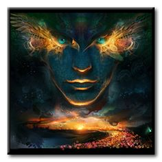 Wanderer Awakening CD Cover by Andrew Jones