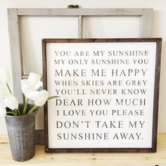 You Are My Sunshine | Timber & Gray