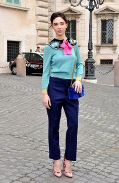 Matilda De Angelis..... - Celebrity Fashion Trends