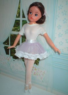 As I loved ballet this was my favourite doll (seventies) - als liefhebster van ballet was dit mijn favoriete pop (jaren 70)