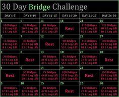 30 Day Bridge Challenge