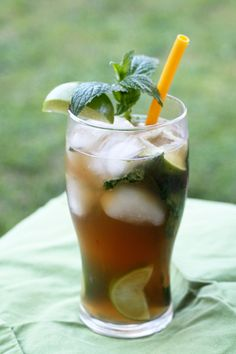 Nojitos are among the most popular mocktails, and this iced tea-filled recipe is bound to make you nostalgic for long summer days. So mix one up, lie back, and let the lime and mint transport you to a relaxing, tropical oasis. Repeat as needed. Get the recipe at Haute Apple Pie.   - Redbook.com