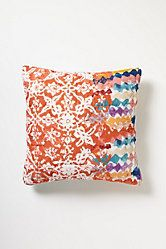 Port of Call Euro Sham #Anthropologie #PintoWin