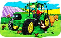 A #tractor, the #essential vehicle of the #farm. #education #wooden #madeinbritain #Educational #Business #familybusiness #Family #wooden #British #Handmade #Children #gifts #toys #Christmas #jigsaw #puzzles #children #parenting #parents #childhood #animals #wildlife #animalkingdom #sights #views #british #england #derby #madeinengland #madeinbritain