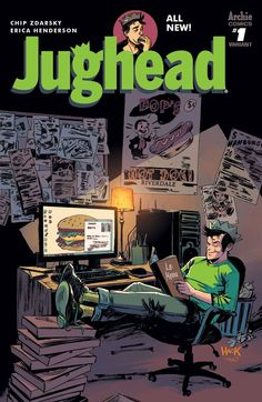 In the grand tradition of comic book reboots like Archie #1, Archie Comics proudly presentsJughead #1 from the comics dream team of Chip Zdarsky (Howard the Duck) and Erica Henderson (The Unbeatable S