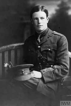 CWGC has him as a Captain of the 7th Battalion Son of George M. P. and Mary Ethel Murray, of 2, Bayswater Terrace, Kingstown, Co. Dublin. World War One, First World, Bromsgrove School, Calais France, Cop Uniform, Ww1 Soldiers, 28 April, Lest We Forget, Portrait Poses