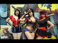 Hottest Cosplay Girls At WonderCon 2014