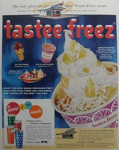 56 Tastee Freez Ad