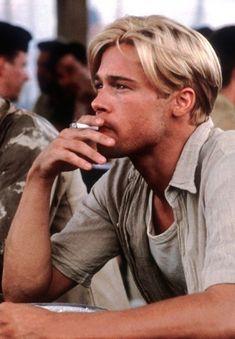 "Brad Pitt in ""Seven Years in Tibet"" Brad And Angelina, Angelina Jolie, Brad Pitt Haarschnitt, Young Brad Pitt, Junger Brad Pitt, Jennifer Aniston, Brad Pitt Haircut, Brad Pitt Hairstyles, Young Man Haircut"