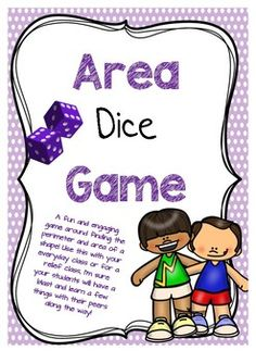 Are you a relief teacher looking for a simple but fun math activity to do on the go? Or are you an everyday classroom teacher looking for a way to make learning about area and perimeter fun? Well we have the resource for you and its FREE!!! This game is best played with 2-3 players.