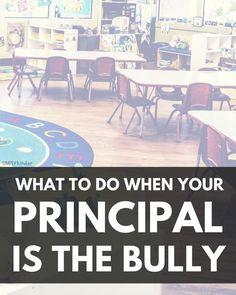 When Your Principal