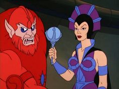 Beast Man and Evil-Lyn