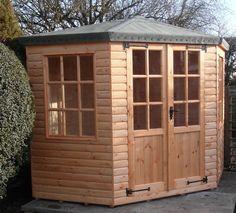 Quality 7ft x 7ft corner summerhouse