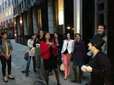 https://flic.kr/s/aHsjGe96kz | Alumni Most Curious London Walk | Jun 20, 2013 City of London