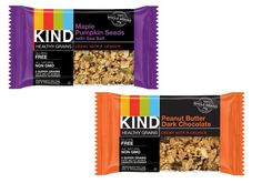 Kind Healthy Grains gluten-free granola bars. Made with amaranth, quinoa, millet, buckwheat, and gluten-free oats.