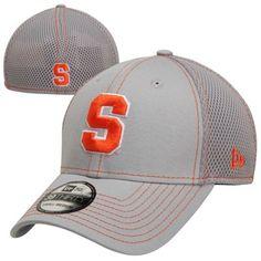 c7ac94cabd9 New Era Syracuse Orange 39THIRTY Neo Stretch Fit Hat - Gray
