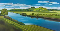 View from Herons by Anna Dillon Landscape Art, Landscape Paintings, Rockwell Kent, Elementary Art, Herons, Impressionism, Amazing Photography, Illustration Art, Around The Worlds