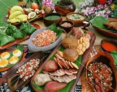 Coming from a Polynesian background, this is 'Heavens diet.'  polynesian food | hawaiian food spread
