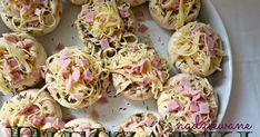 Banalnie prosty przepis na pyszną przekąskę. Zazwyczaj jest tak, że wymyślam jakieś nowe, skomplikowane dania, dwoję się i troję (dobrze, ż... Donia, Polish Recipes, Party Snacks, Food Design, Tapas, Catering, Food And Drink, Cooking Recipes, Cooking Blogs