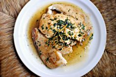 Seared Chicken Breast with Lemon Herb Pan Sauce | Simply Scratch