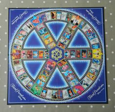 Trivial Pursuit Disney Pixar DVD Game BOARD ONLY, Crafts, Wall Art, Upcycling, Spare Game Pieces