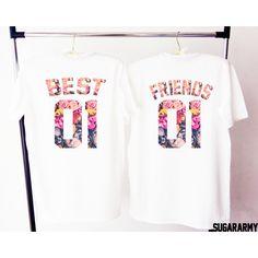 BEST FRIENDS shirts best friends matching shirts friends shirts beste freunde shirts best friends t-shirt besties shirts friends tees - Bestfriend Shirts - Ideas of Bestfriend Shirts - Best Friends T Shirt, Best Friend Outfits, Best Friend Goals, Friends Shirts, Bff Shirts, Big Little Sorority Shirts, Best Frends, Oeko Tex 100, Matching Shirts